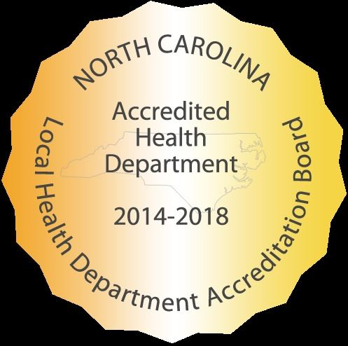 Health Department Accreditation Badge