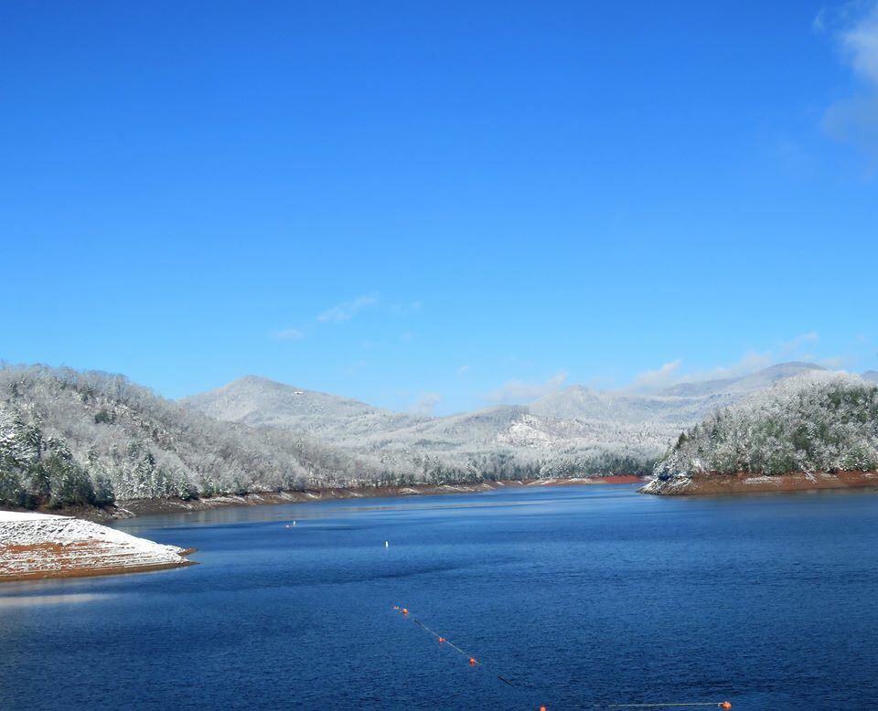Winter on Hiwassee