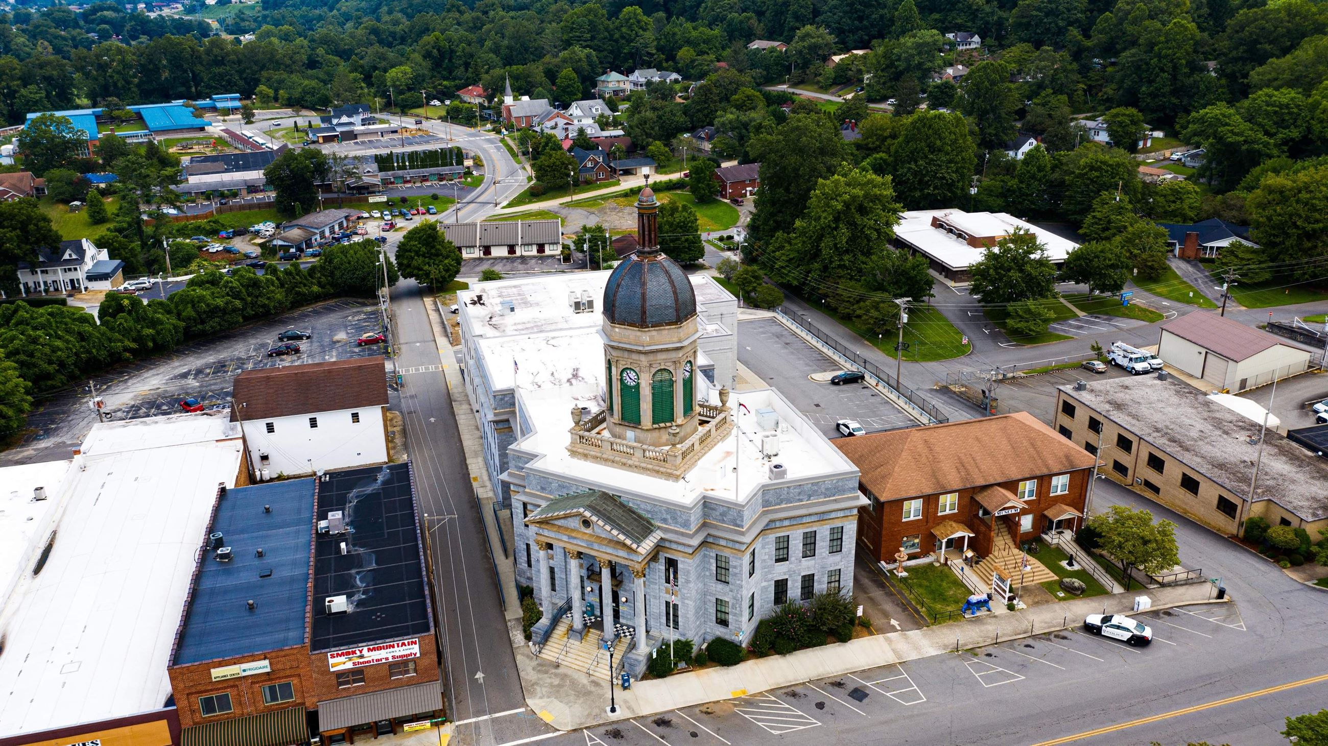 Courthouse Aerial View
